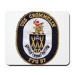 USS CROMMELIN Mousepad