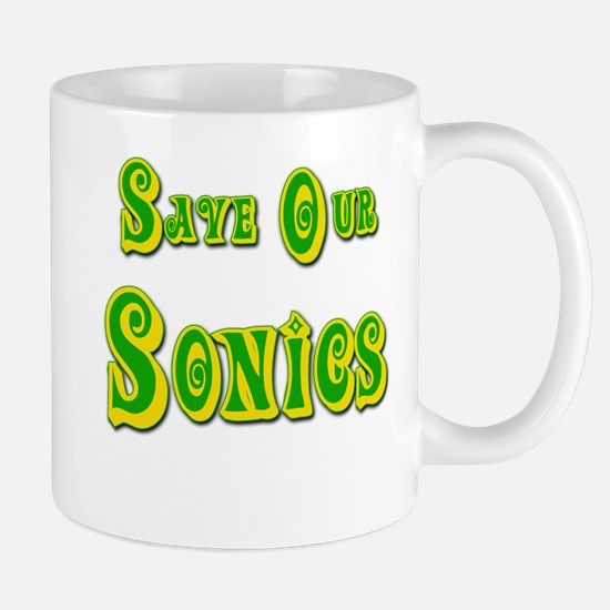 Save Our Sonics in Seattle Mug