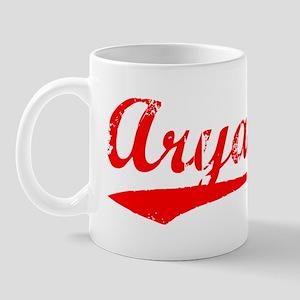 Vintage Aryana (Red) Mug