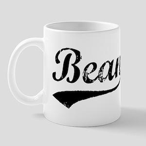 Vintage Bean (Black) Mug