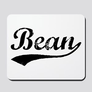 Vintage Bean (Black) Mousepad