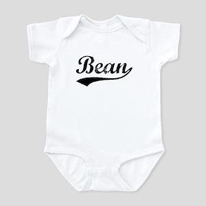 Vintage Bean (Black) Infant Bodysuit