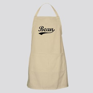 Vintage Bean (Black) BBQ Apron