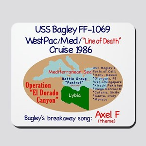 West Pac/Med Cruise 86' Mousepad