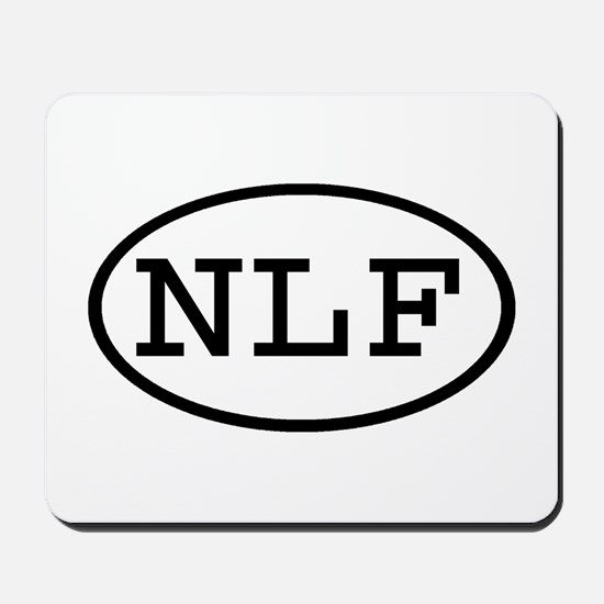 NLF Oval Mousepad