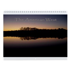 The American West Wall Calendar