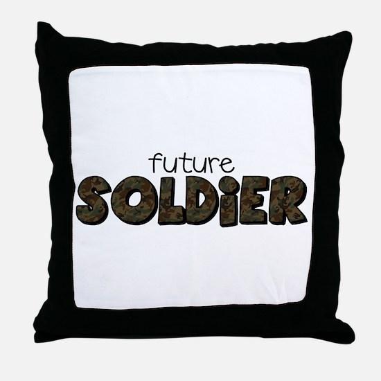 Unique Military kids Throw Pillow