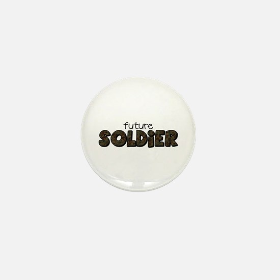 Cute Military children Mini Button