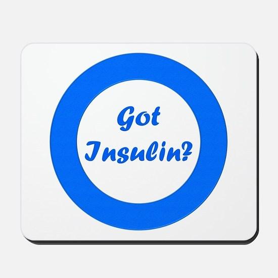 Got Insulin Mousepad