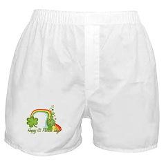 Happy St Patricks Day Rainbow Boxer Shorts