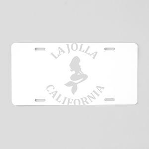 Summer la jolla shores- cal Aluminum License Plate