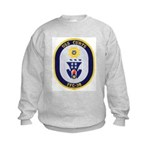 USS CURTS Kids Sweatshirt