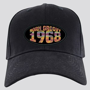 1968 Born Groovy Black Cap with Patch