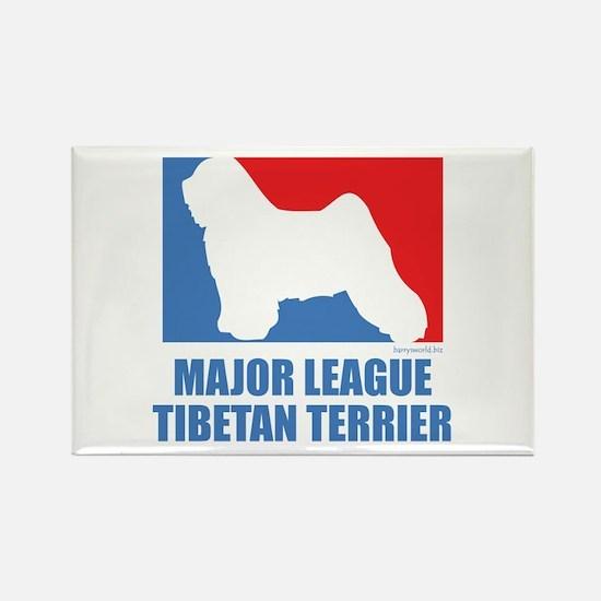 ML Tibetan Terrier Rectangle Magnet (10 pack)
