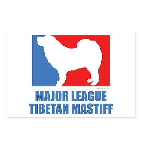 ML Tibetan Mastiff Postcards (Package of 8)