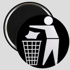 No litter sign - Magnets