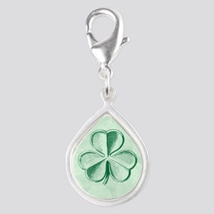 Artsy Clover Soft Green Bokeh Charms