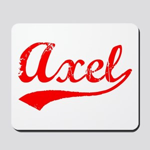 Vintage Axel (Red) Mousepad
