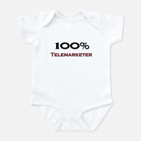 100 Percent Telemarketer Infant Bodysuit