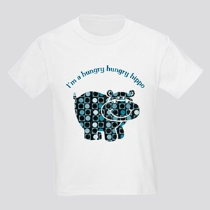 I'm a hungry hungry hippo Kids Light T-Shirt