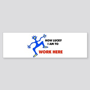 WORKER Bumper Sticker