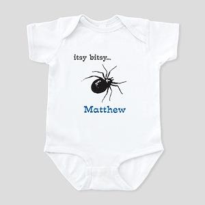 itsy bitsy....(any name) Infant Bodysuit