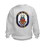 USS DE WERT Kids Sweatshirt