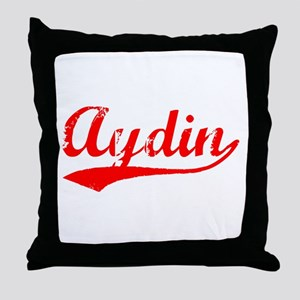 Vintage Aydin (Red) Throw Pillow