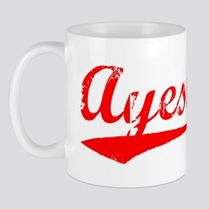 Vintage Ayesha (Red) Mug