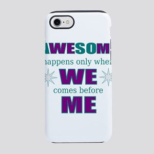 inspirational leadership iPhone 8/7 Tough Case