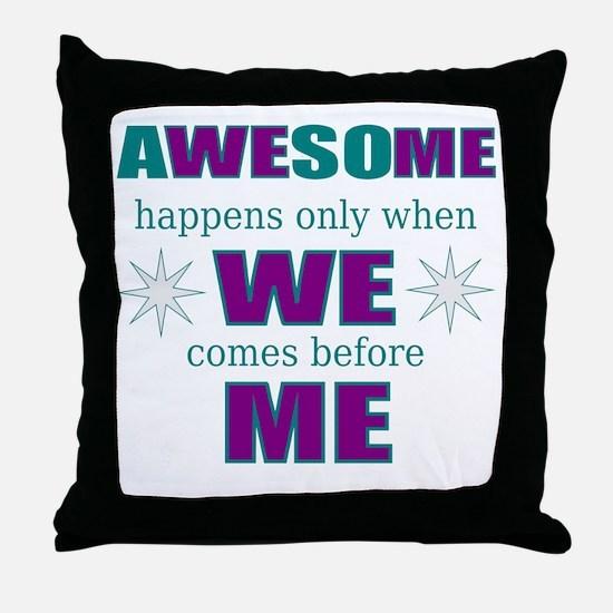 inspirational leadership Throw Pillow