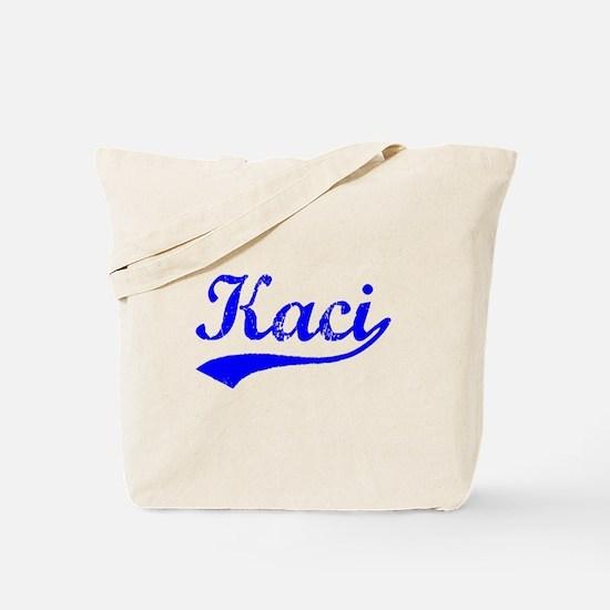 Vintage Kaci (Blue) Tote Bag