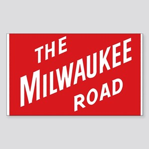 Milwaukee Road 2 Rectangle Sticker