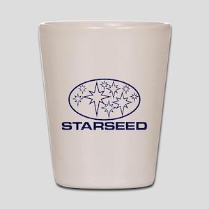 Starseed Pleiades Logo Shot Glass