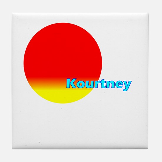 Kourtney Tile Coaster