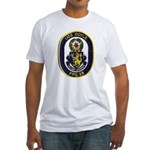 USS DOYLE Fitted T-Shirt