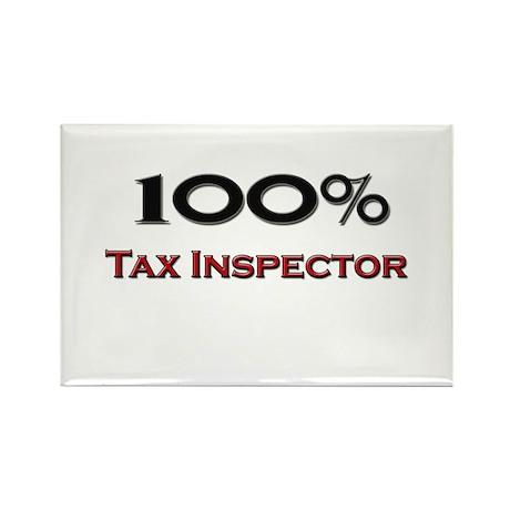 100 Percent Tax Inspector Rectangle Magnet (10 pac