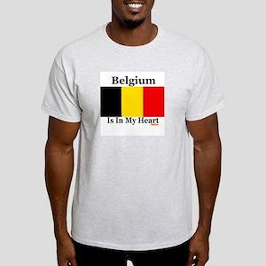 Belgium - Heart Light T-Shirt
