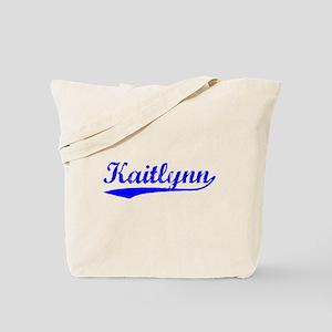 Vintage Kaitlynn (Blue) Tote Bag