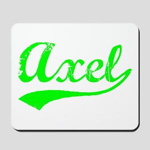 Vintage Axel (Green) Mousepad
