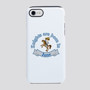 June Birthday   Knights Are iPhone 8/7 Tough Case