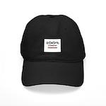 100 Percent Tapestry Designer Black Cap