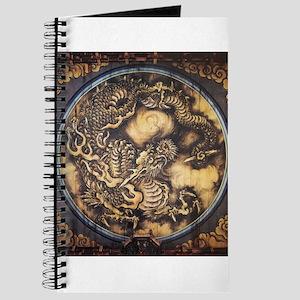 Traditional Japanese Oriental Dragon Journal