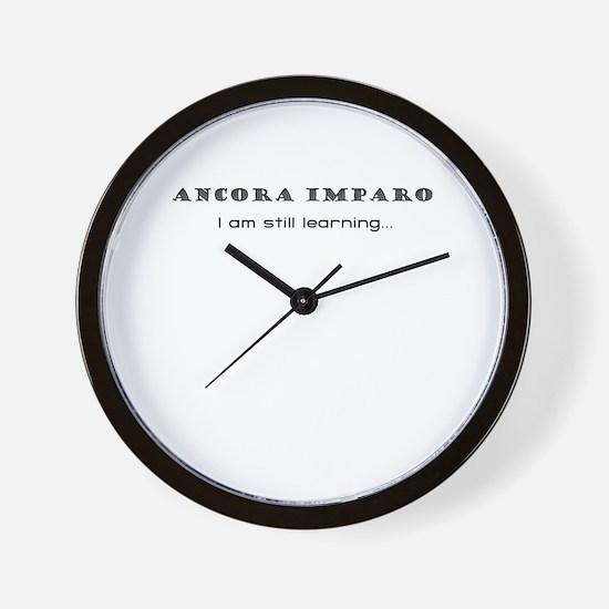 I Am Still Learning Wall Clock