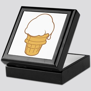 Cute Ice Cream Cone Keepsake Box