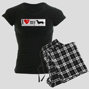 I luv my Dachshund Pajamas