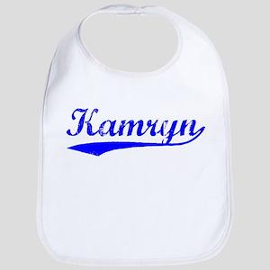 Vintage Kamryn (Blue) Bib