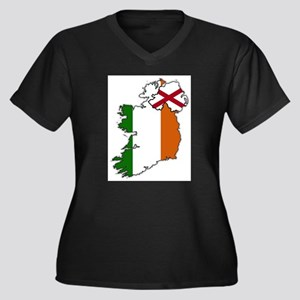 Northern And Republic Of Ireland Plus Size T-Shirt