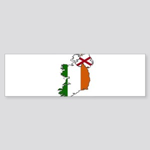 Northern And Republic Of Ireland Fl Bumper Sticker