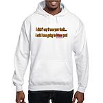 Not Your Fault Hooded Sweatshirt